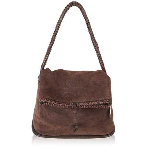 5cb0cabff030 MACHINE By BASSICO Brown Suede TOTE Handbag. placeholder