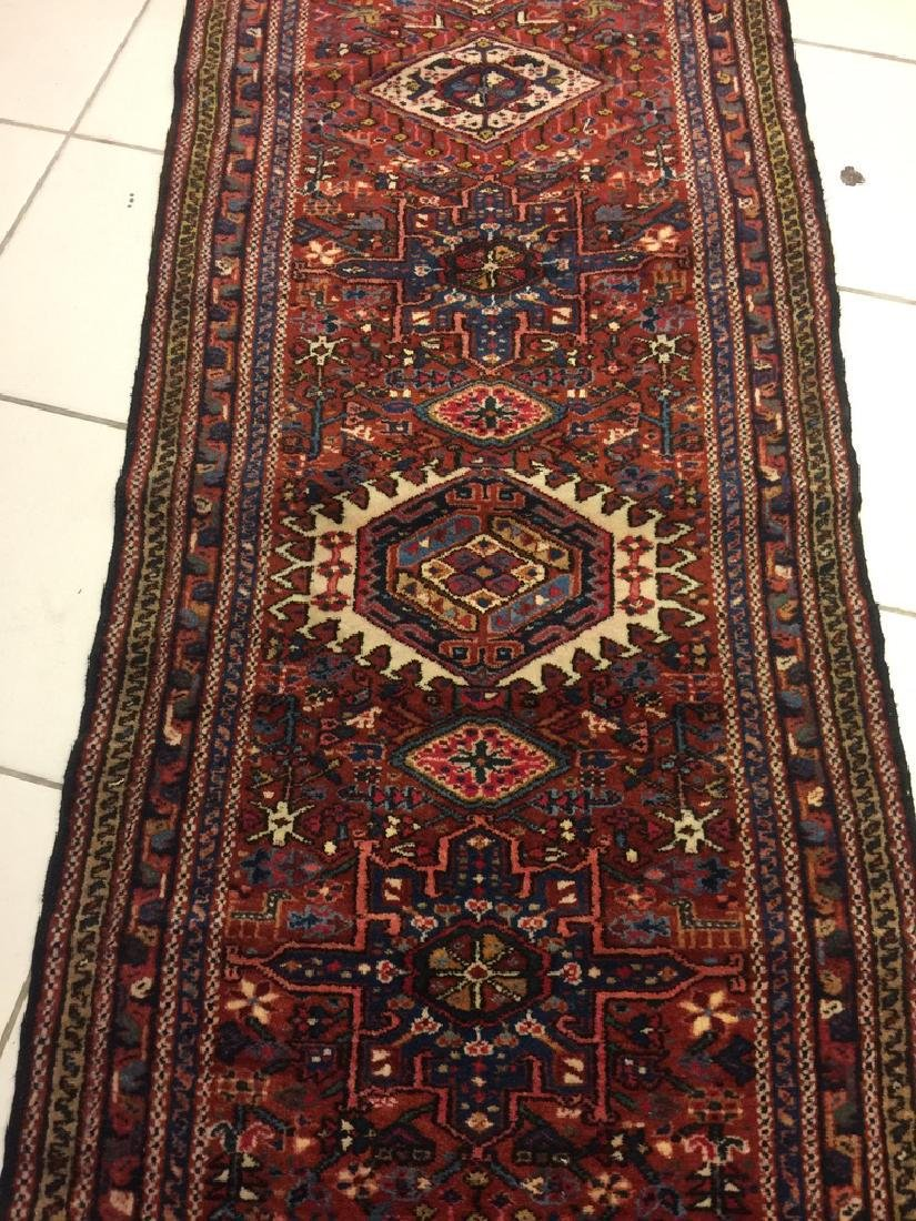 Semi Antique Persian Heriz Runner 10.7x3