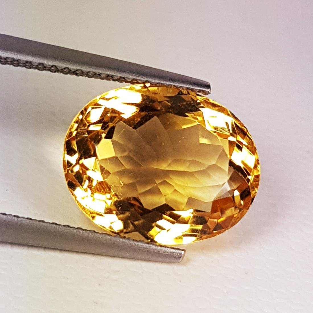 7.33 ct AAA Top Grade Oval Cut Natural Citrine