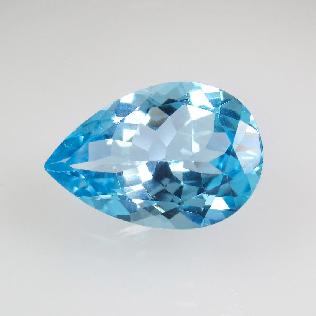 10.57 Ct Genuine Brazil Blue Topaz 18X12 mm Oval Cut