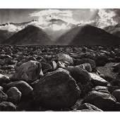 ANSEL ADAMS - Mt. Williamson from Manzanar, California