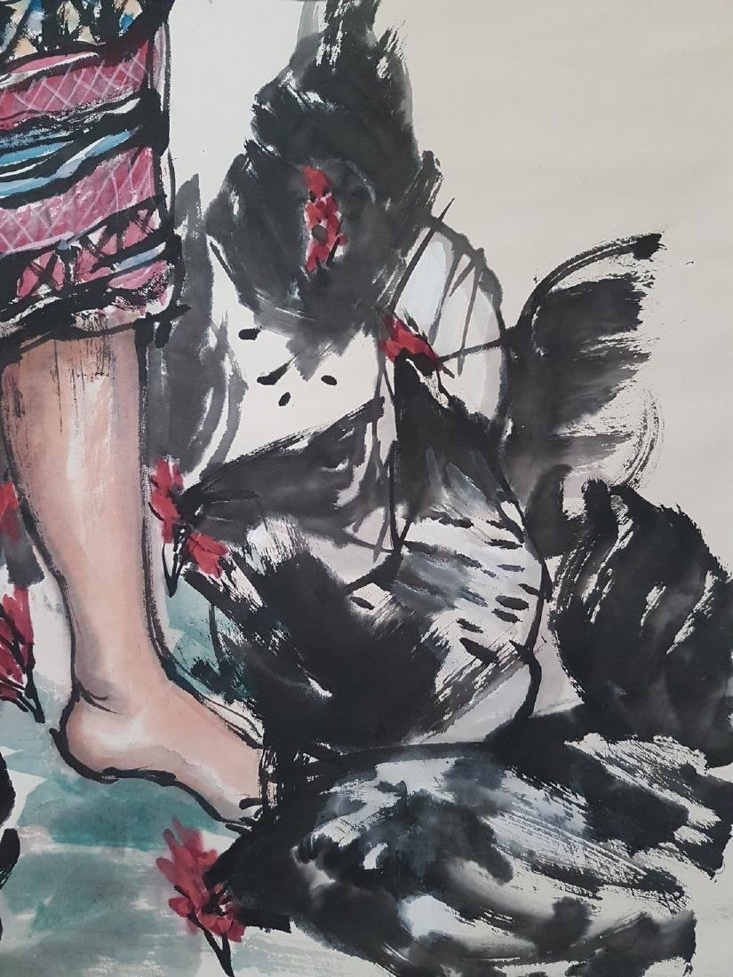 Chinese Scroll Painting on paper HUANG ZHOU(after) - 7