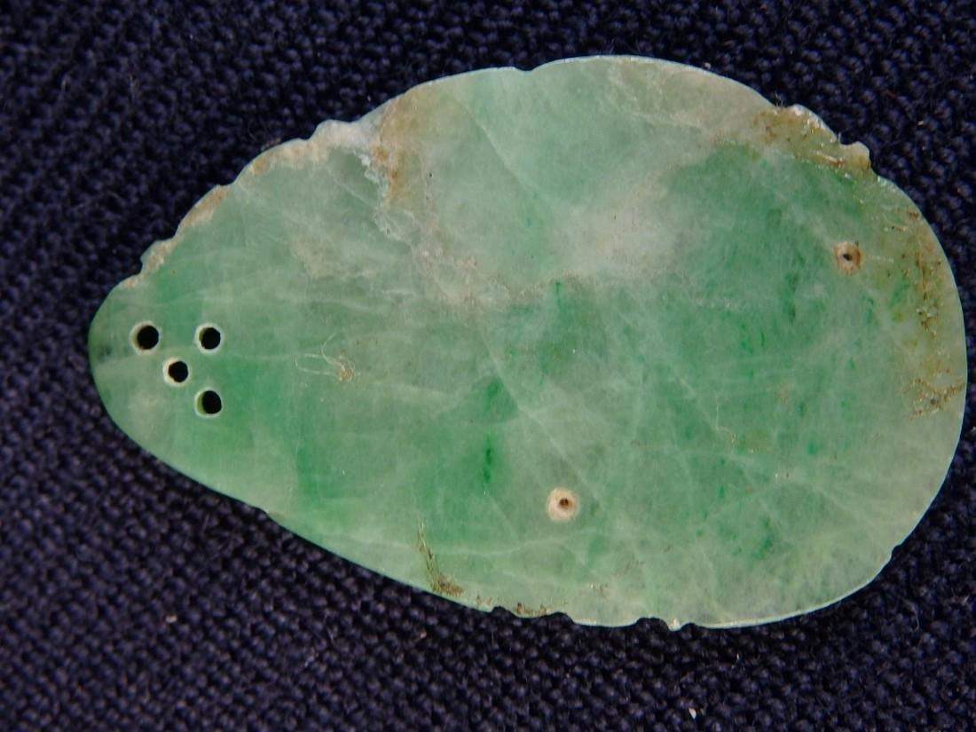 Antique Jadeite pendant - 3