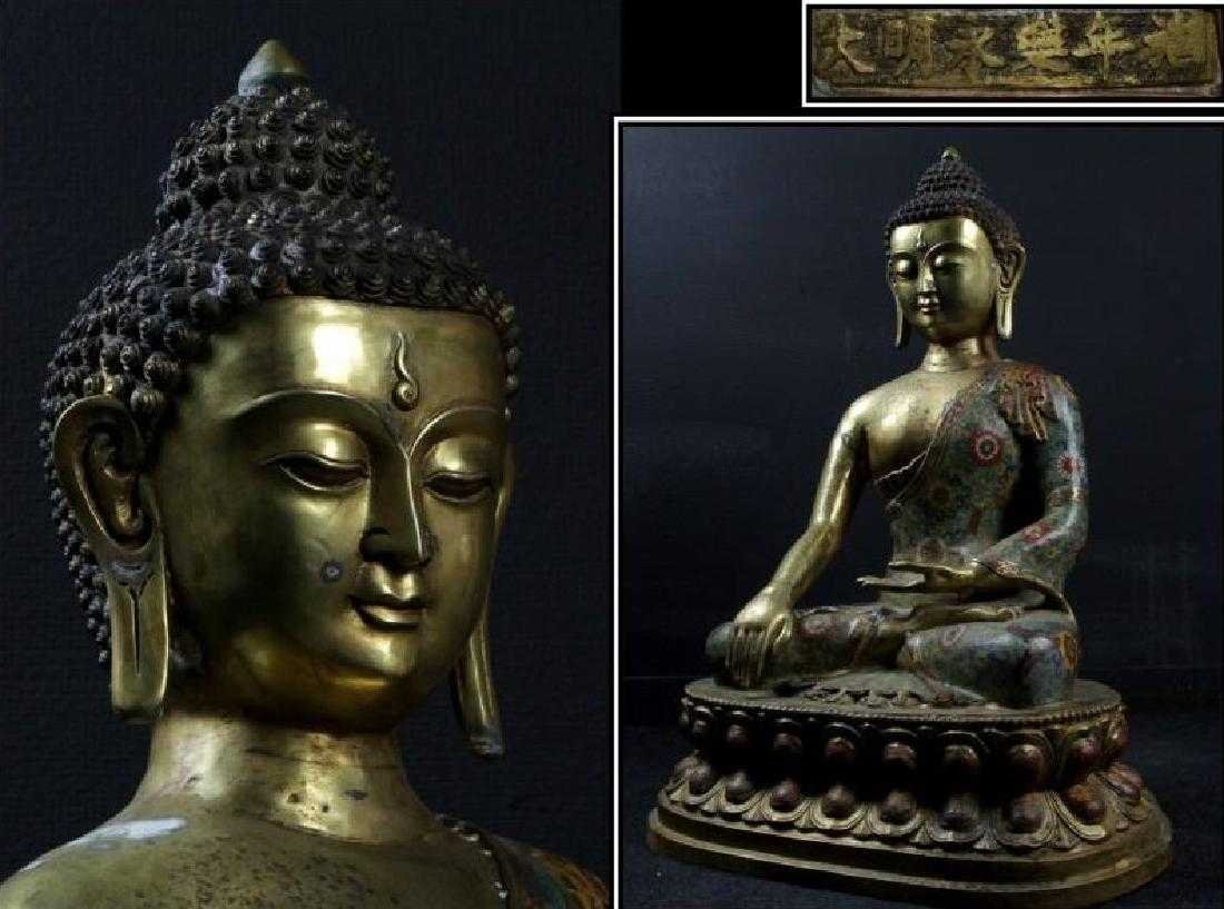 Buddha a real religious rarity from China - 3