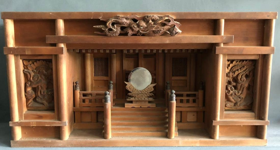 Very nice original Japanese shinds (temple) also called
