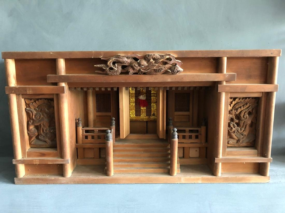 Very nice original Japanese shinds (temple) also called - 5