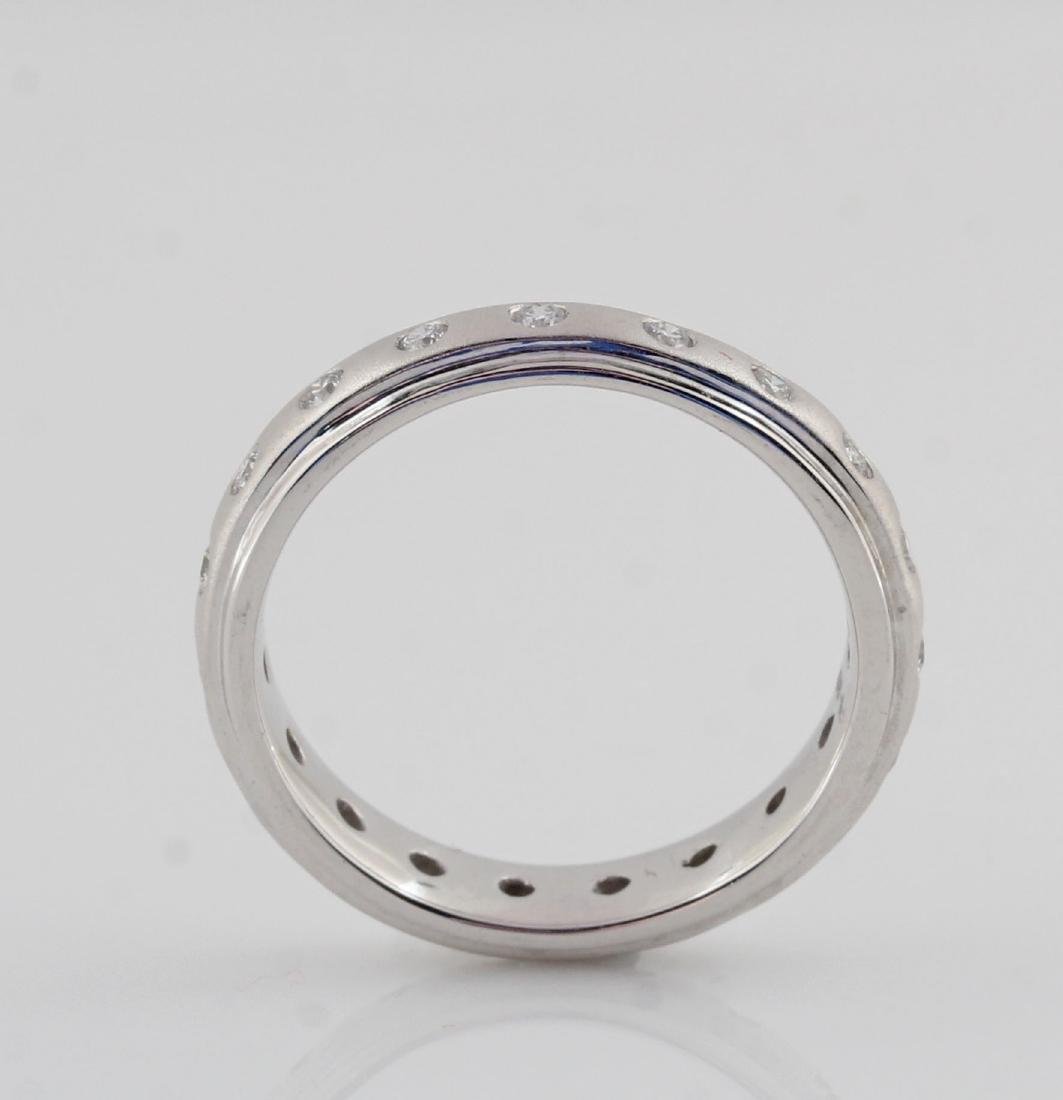 Platina white diamond ring 0.37ct - 6
