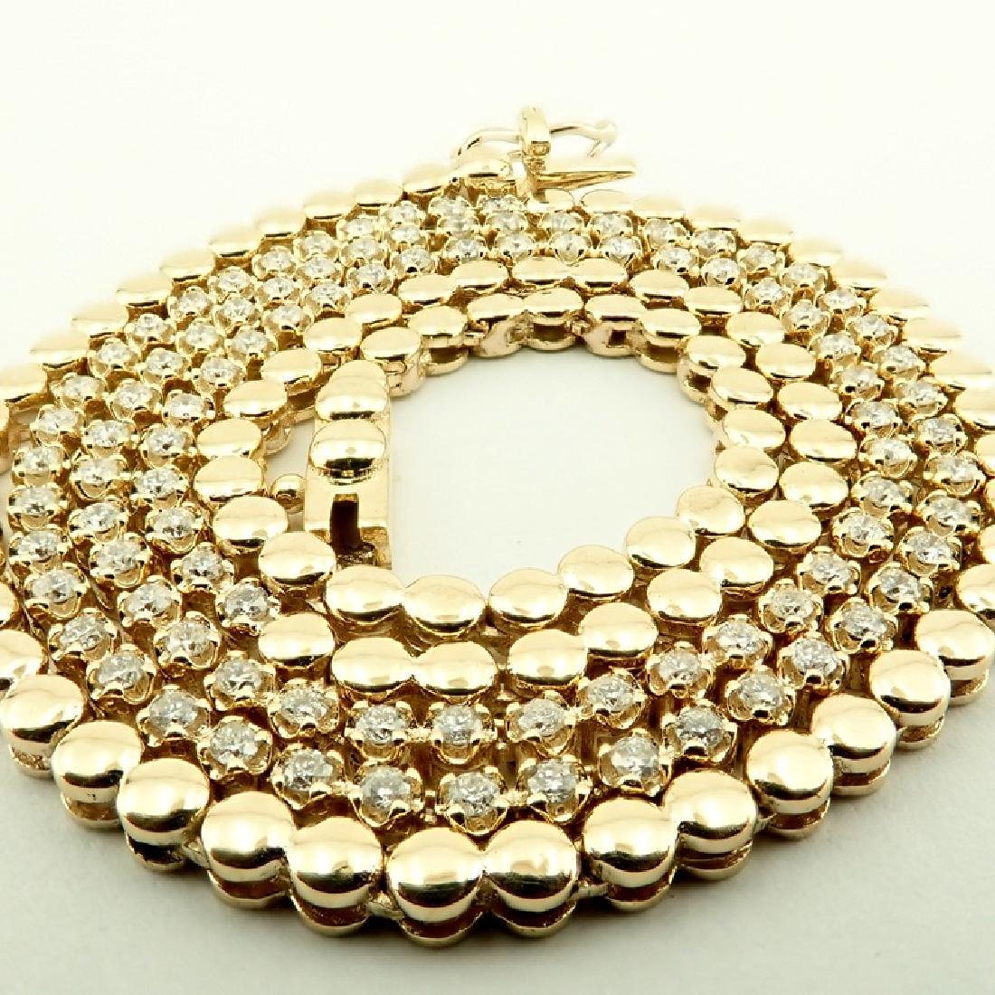 14K 1,20 ct Diamond Tennis Necklace
