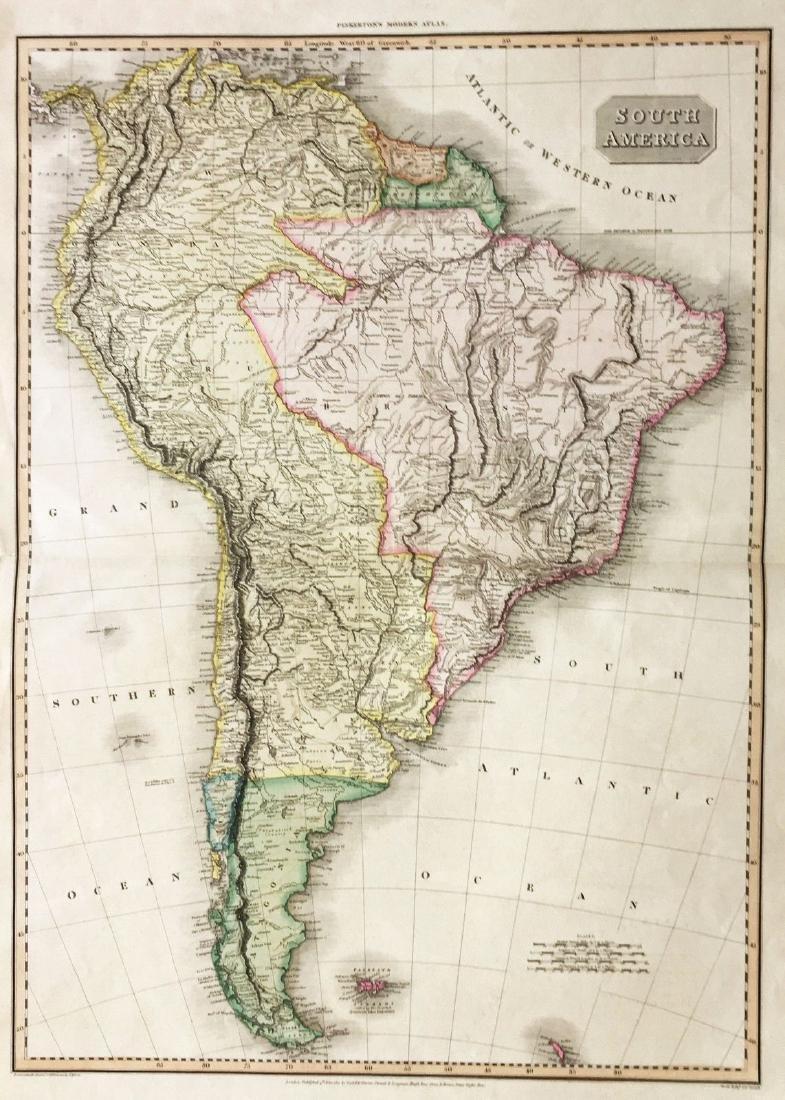 Pinkerton: Grand South America Map - 2