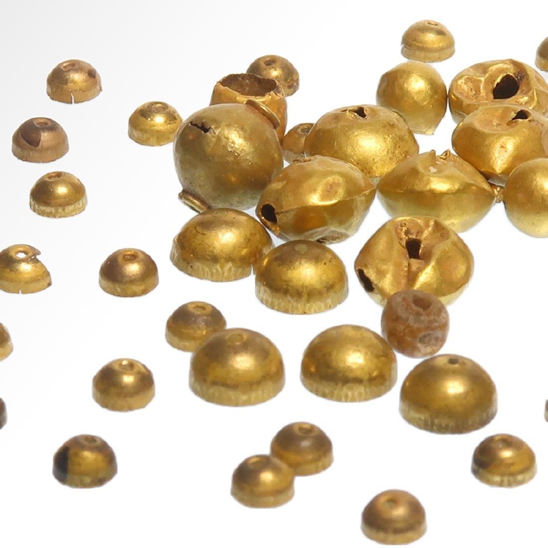 Forty-nine Roman Gold Beads, c. 1st Century A.D. - 2