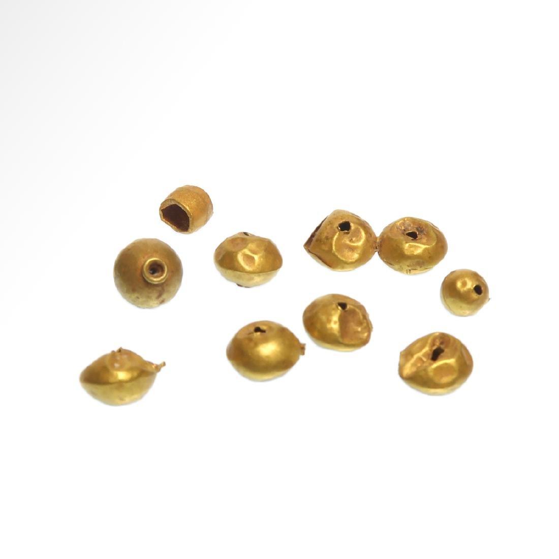 Forty-nine Roman Gold Beads, c. 1st Century A.D. - 3