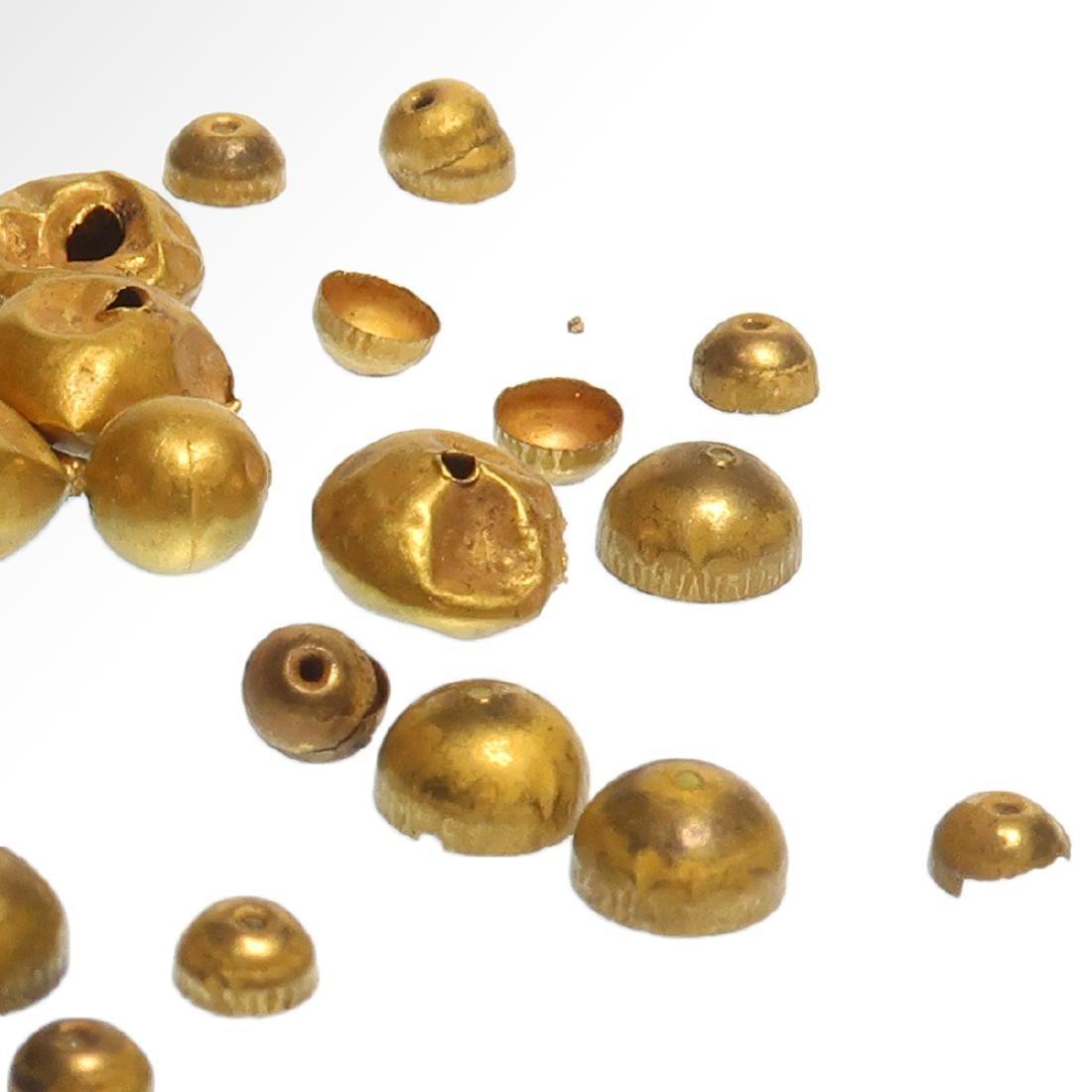 Forty-nine Roman Gold Beads, c. 1st Century A.D. - 6
