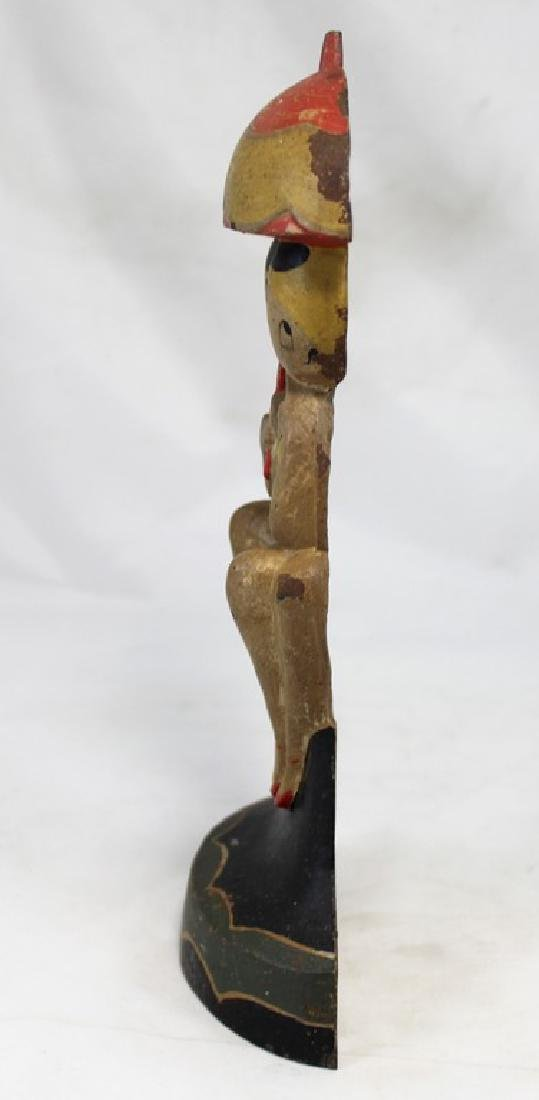 Polychrome Cast Iron Doorstop of Bathing Beauties by - 6