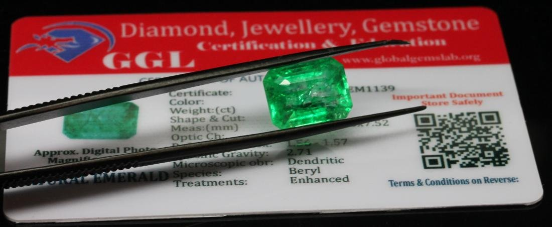 8.02ct. Green Emerald - NO RESERVE