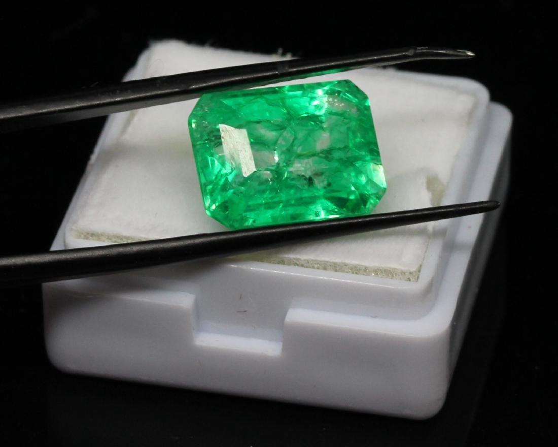 8.02ct. Green Emerald - NO RESERVE - 2
