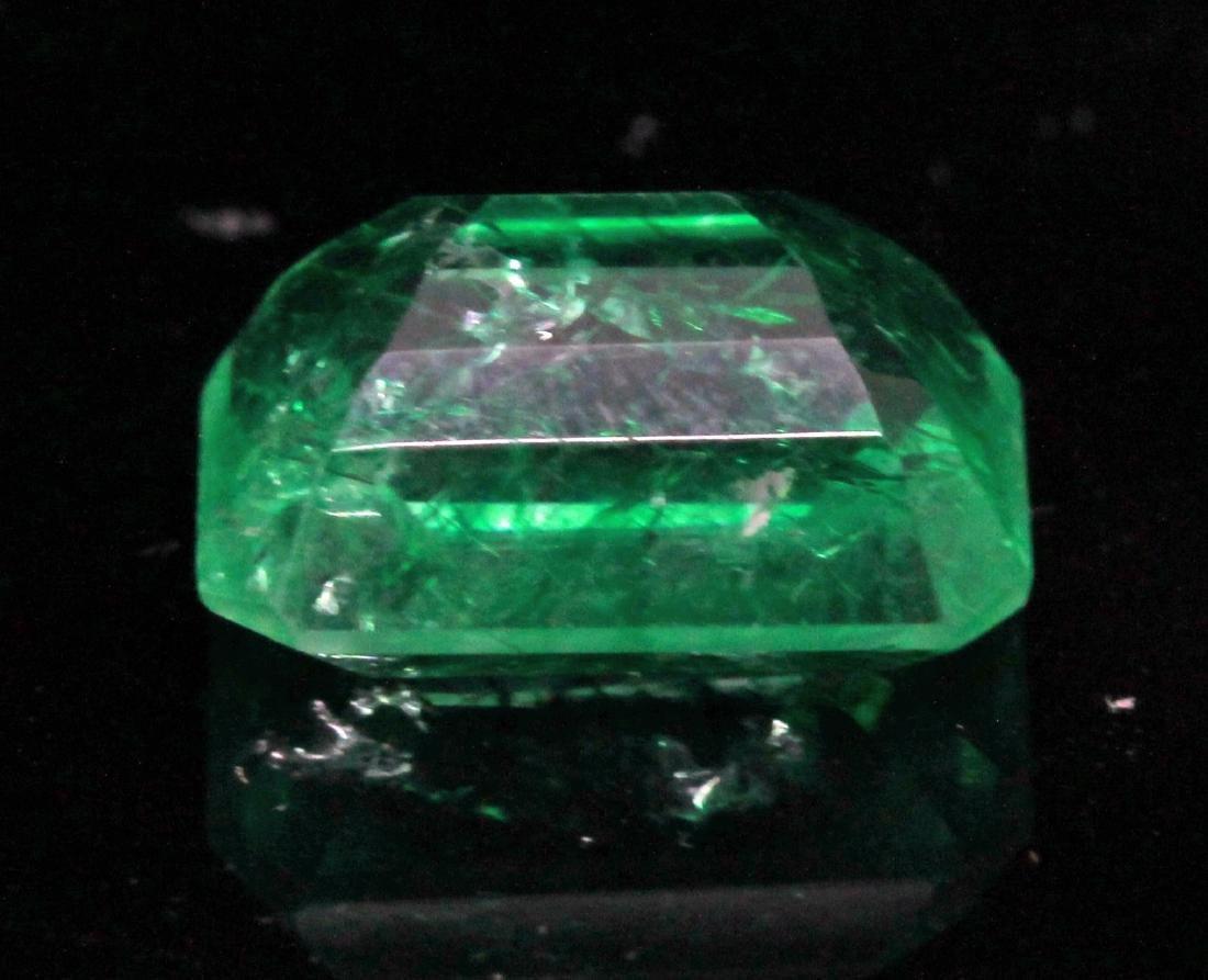 8.02ct. Green Emerald - NO RESERVE - 3