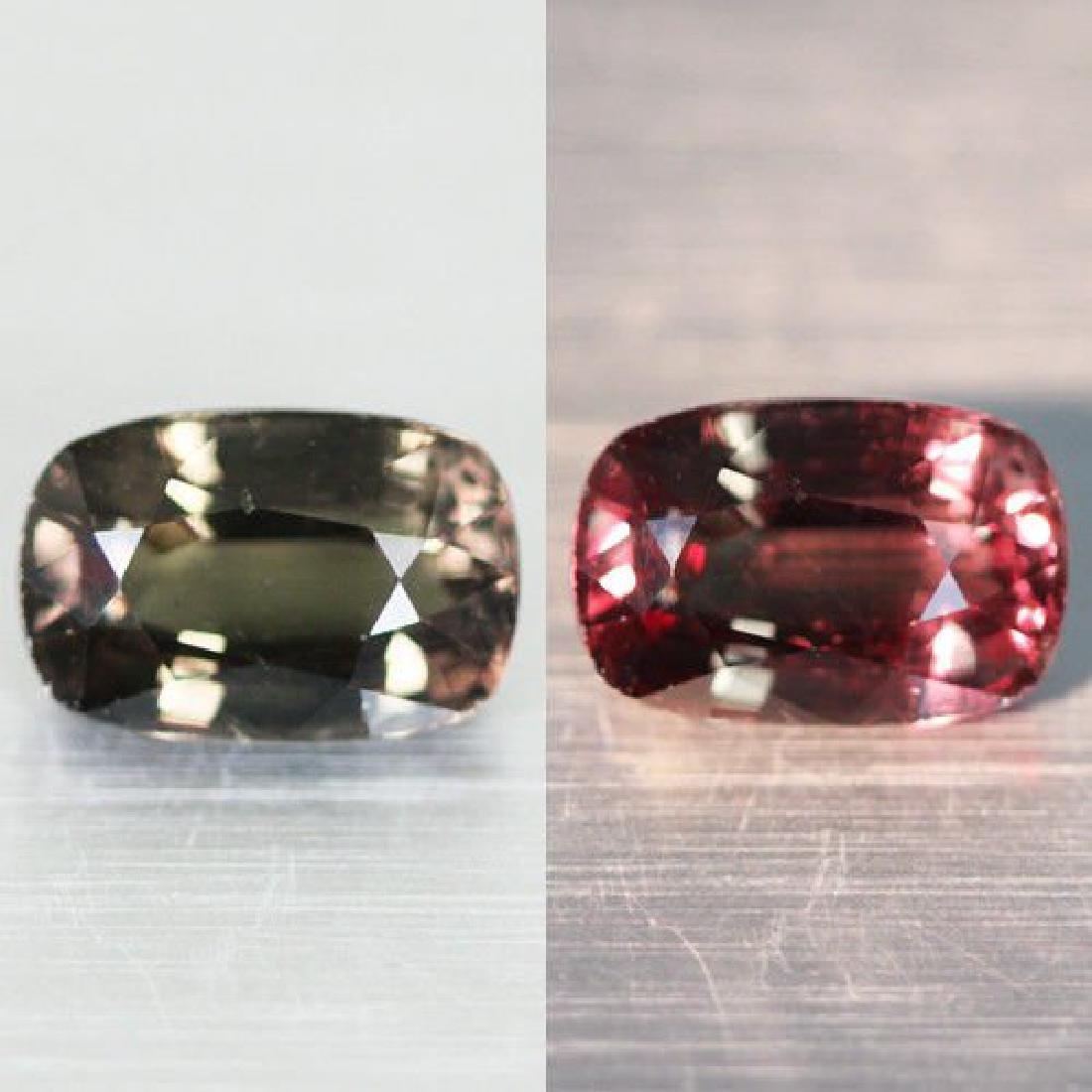 2,25ct Color Change Garnet  IGI report  Rare Gem