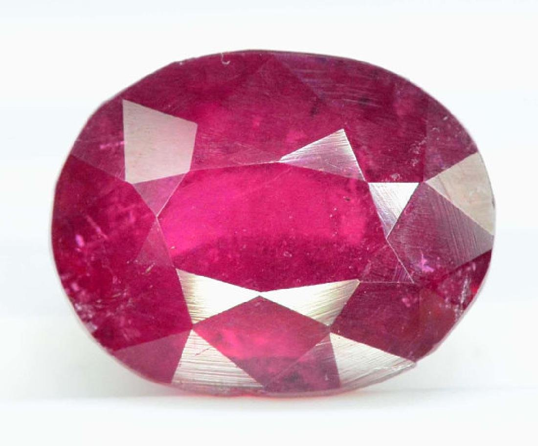 4.15 cts Natural Untreated Rubelite Tourmaline from