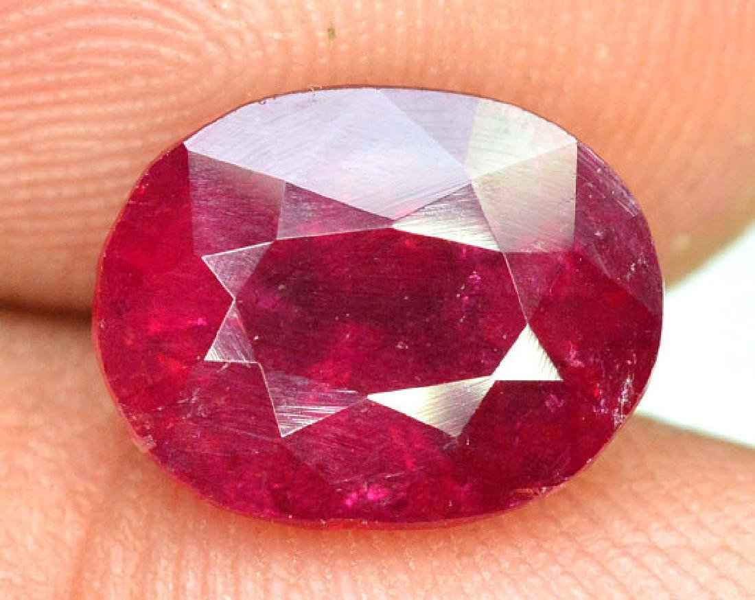 4.15 cts Natural Untreated Rubelite Tourmaline from - 3