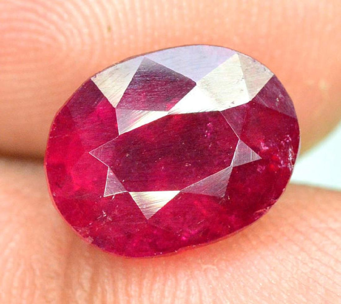 4.15 cts Natural Untreated Rubelite Tourmaline from - 5