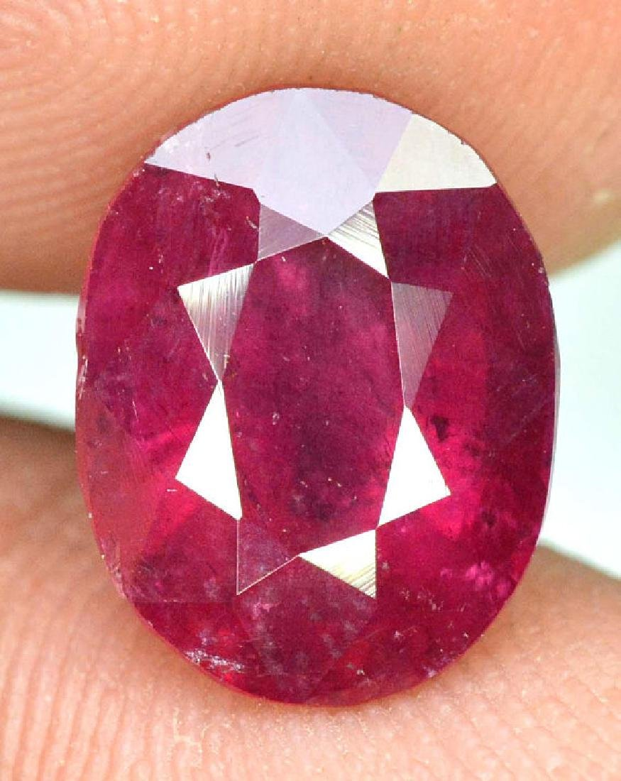 4.15 cts Natural Untreated Rubelite Tourmaline from - 6