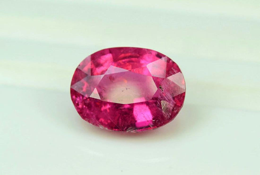 4.55 cts Natural Untreated Rubelite Tourmaline from - 2