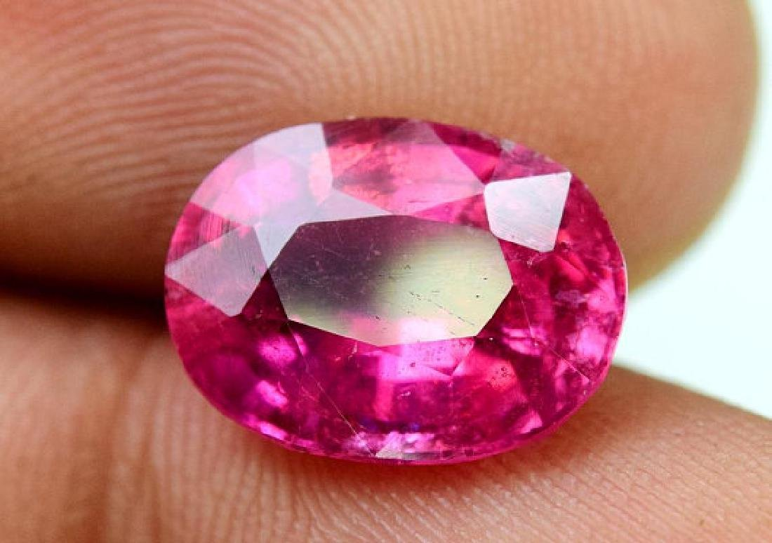 4.55 cts Natural Untreated Rubelite Tourmaline from - 3