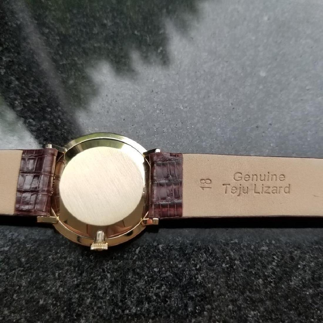 OMEGA Men's Midsize 14K Solid Gold Manual Hand-Wind - 7