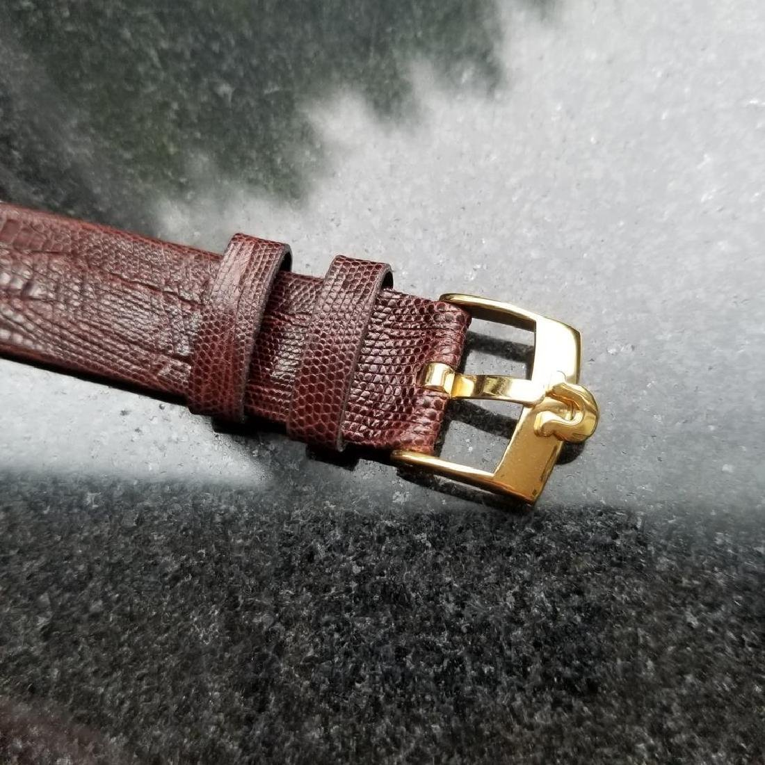 OMEGA Men's Midsize 14K Solid Gold Manual Hand-Wind - 8