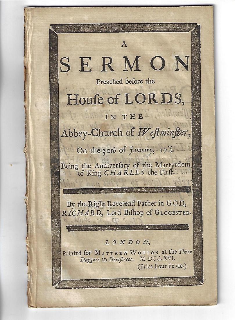 1716 Sermon Anniversary Martyrdom Charles I
