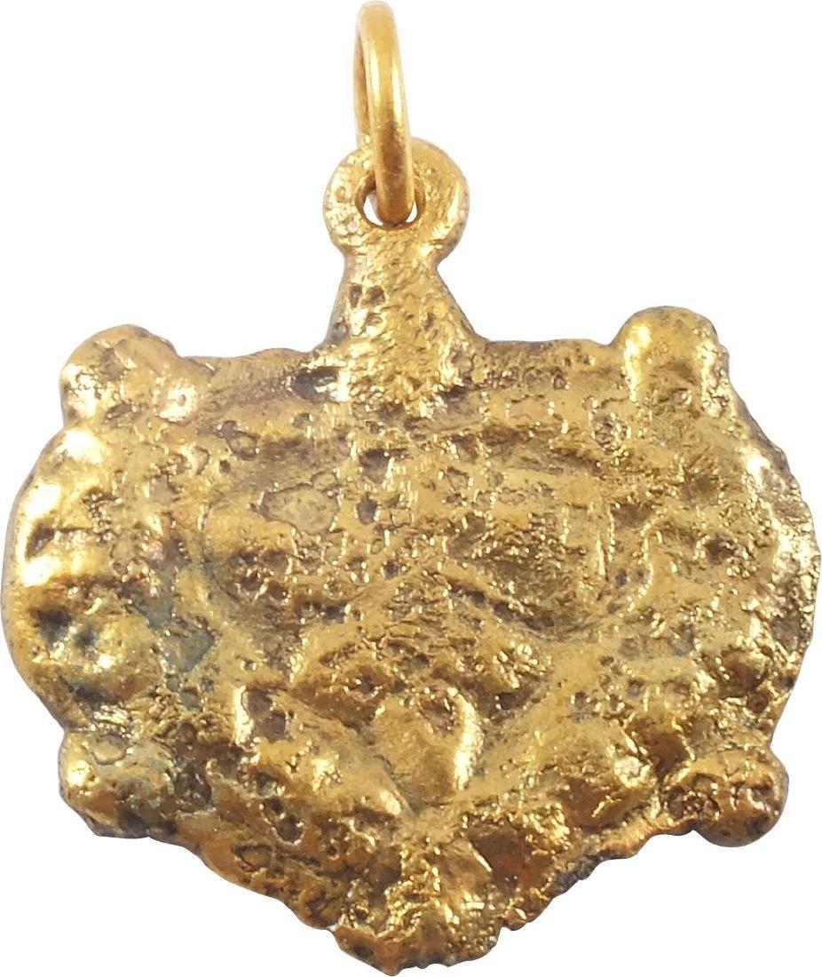 VIKING HEART PENDANT C.900-1050 AD