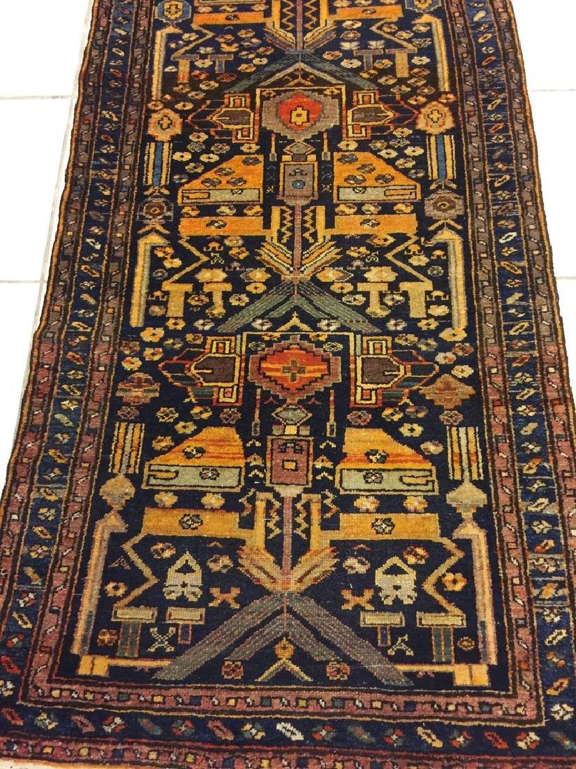 Semi Antique Hand Woven Persian Malayer 6.3x3.2