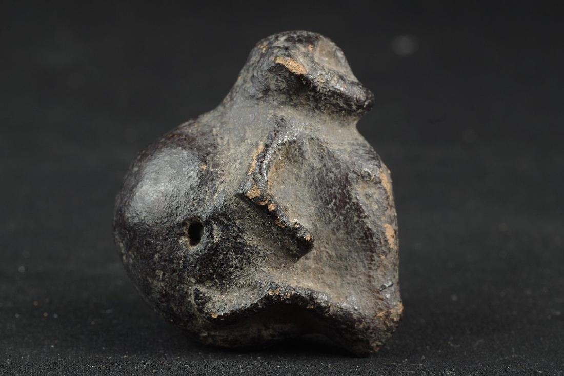 Old protective Sulawesi talisman monkey figure - - 5