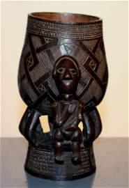 Kuba palm wine cup