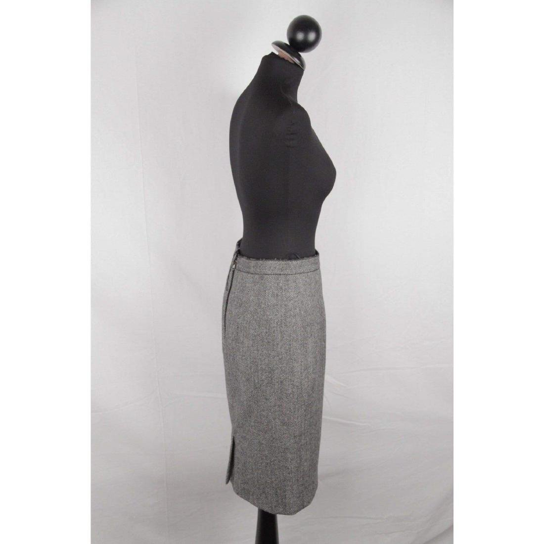DOLCE & GABBANA Herringbone Wool Blend SUIT Blazer & - 2