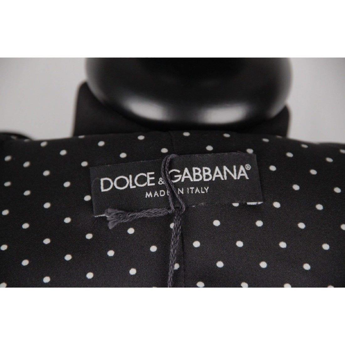 DOLCE & GABBANA Herringbone Wool Blend SUIT Blazer & - 7