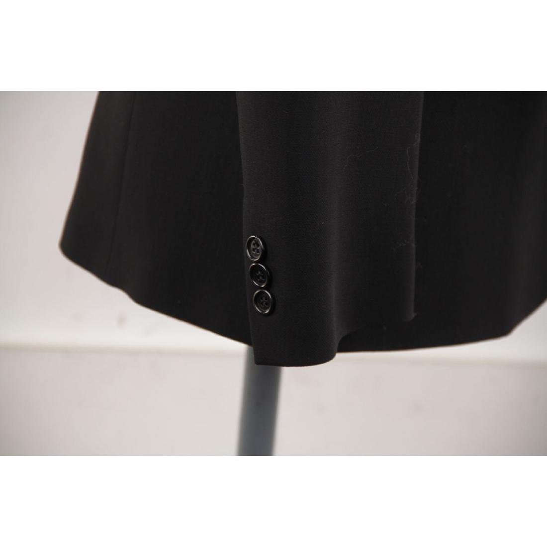 ASPESI BLU Black Wool Blend SUIT BLAZER Jacket And - 4