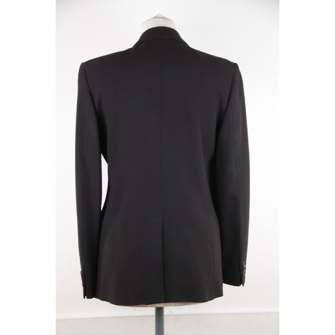 ASPESI BLU Black Wool Blend SUIT BLAZER Jacket And - 5
