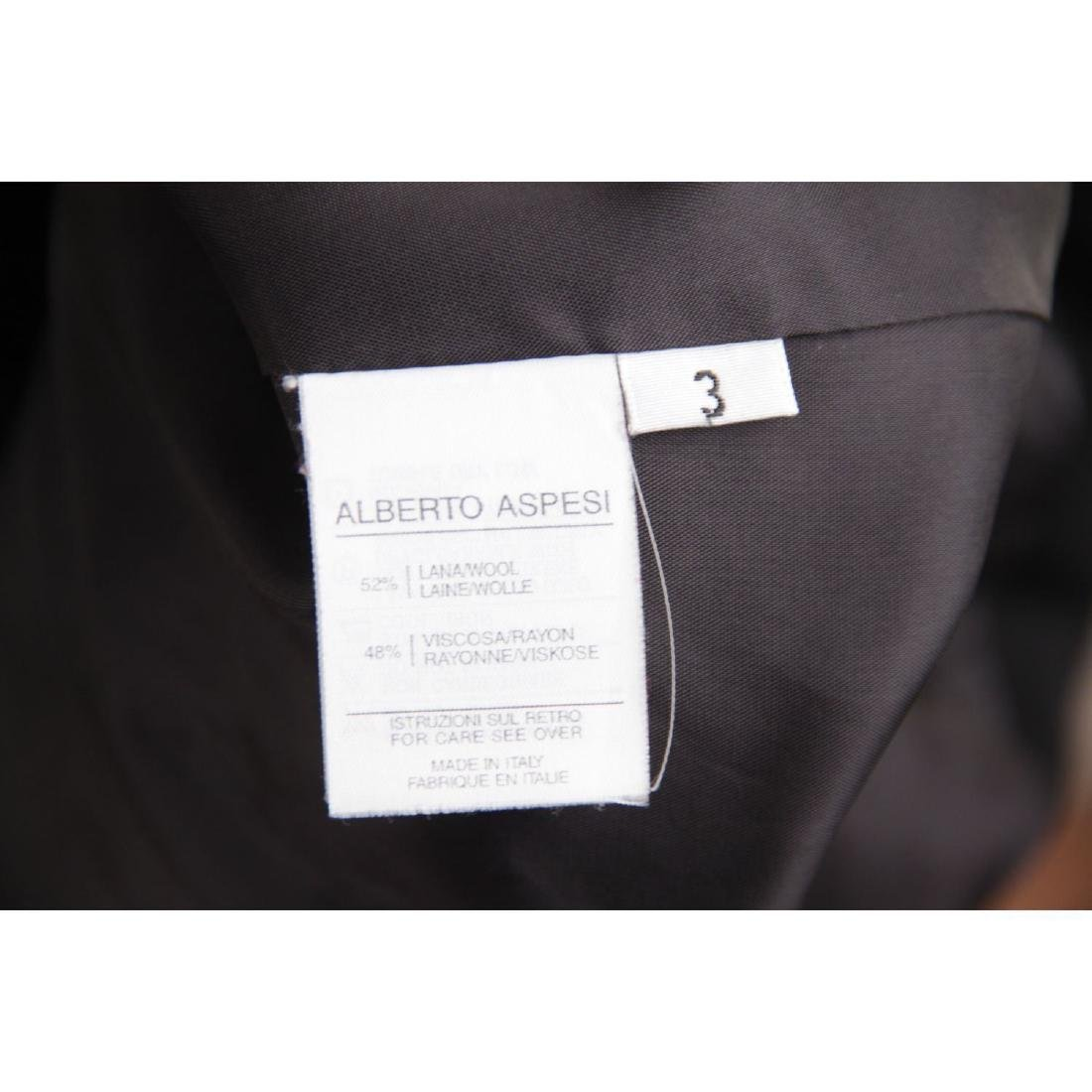 ASPESI BLU Black Wool Blend SUIT BLAZER Jacket And - 7