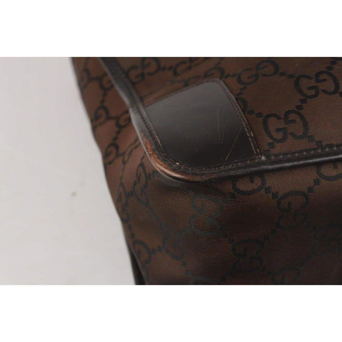 Gucci Monogram Canvas Satchel Bag - 10