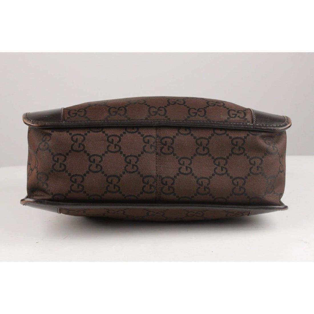 Gucci Monogram Canvas Satchel Bag - 4