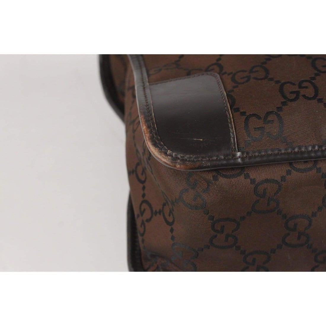 Gucci Monogram Canvas Satchel Bag - 8