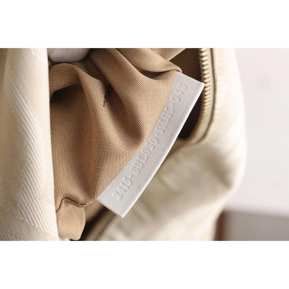 Fendi Zebra Canvas Tote Shoulder Bag - 9