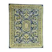 Old Spanish Savonnerie Exc Cond Hand-Knotted Oversize