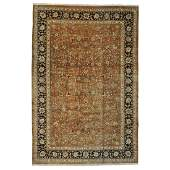 Persian Mashad Oversize Oriental Rug Hand Knotted Wool