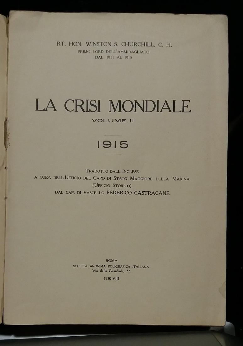 .La crisi mondiale. Vol.II: Churchill,Winston S