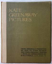 Kate Greenaway Pictures from Originals Presented by Her