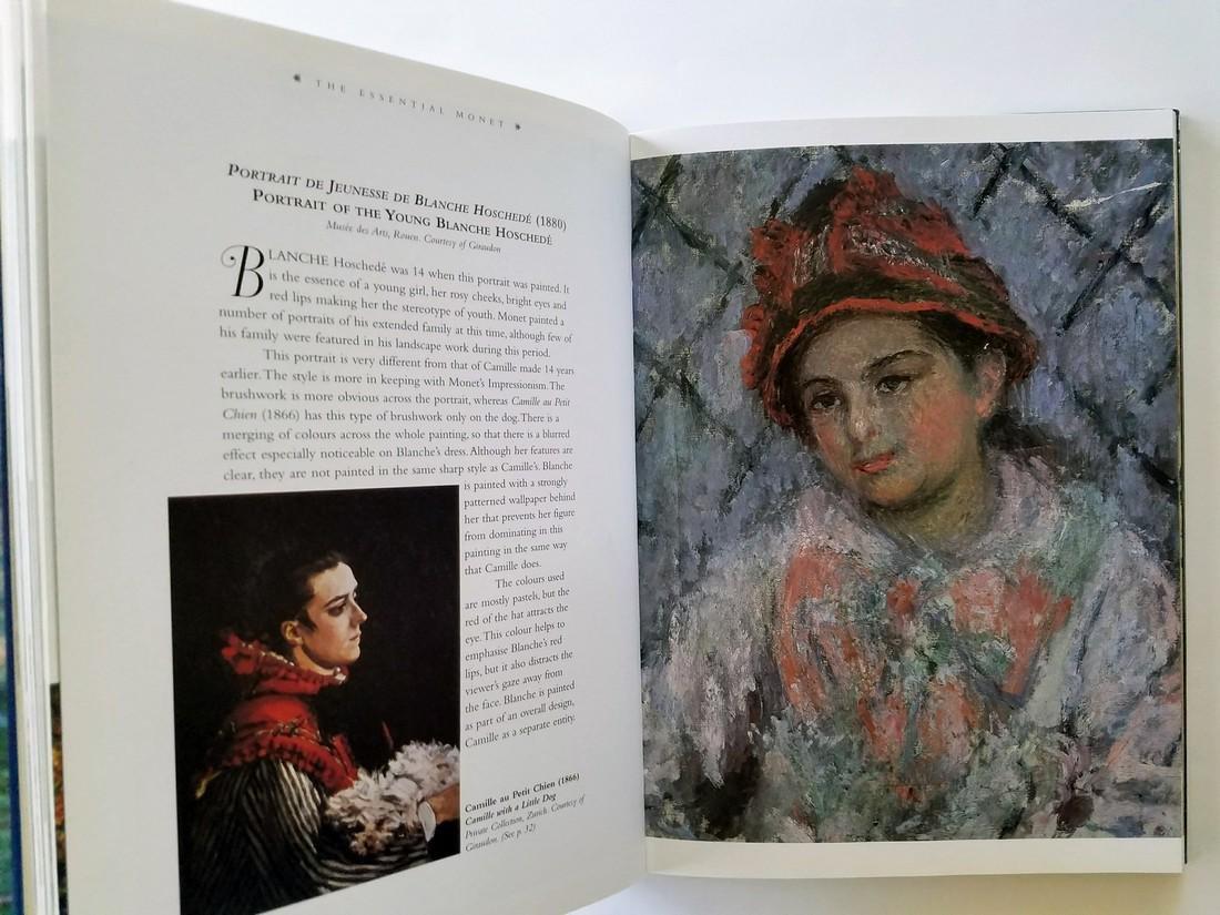 Vanessa Potts.  Essential Monet. - 2