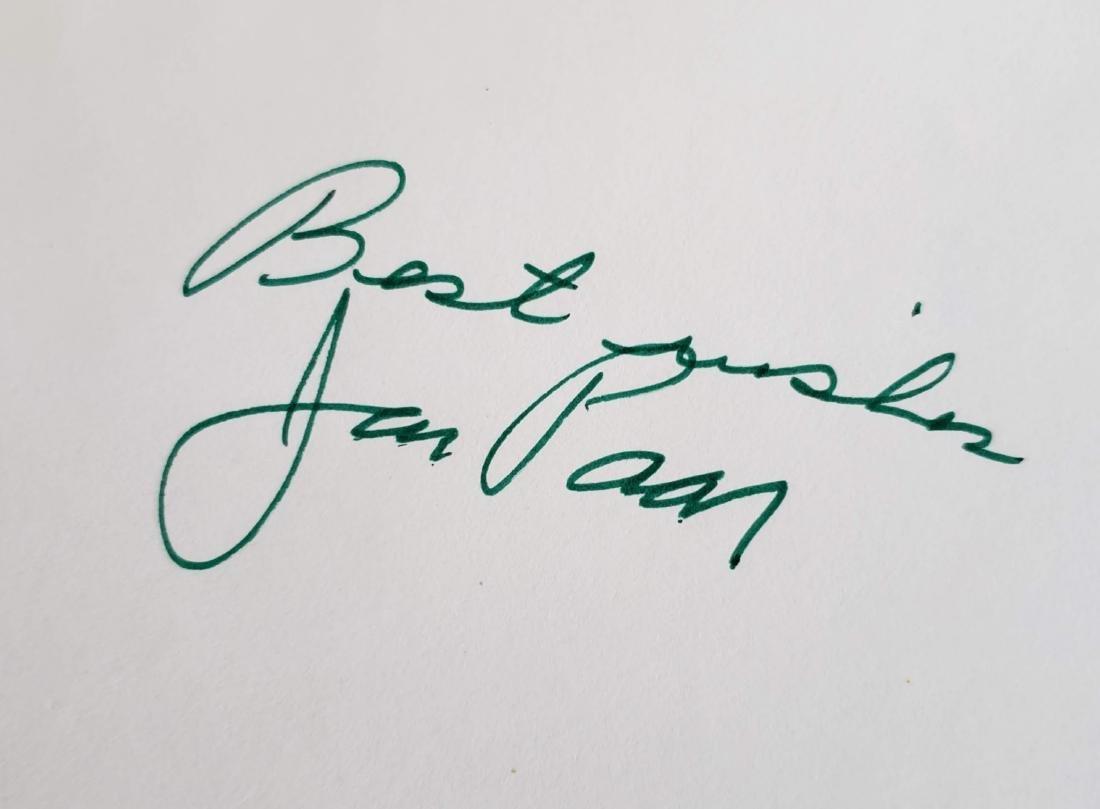 Jack Paar.  P.S. Jack Paar. Signed - 2