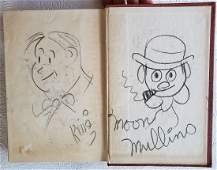 From Gags to Riches. Signed title + 4 drawings